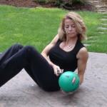 Med ball twist